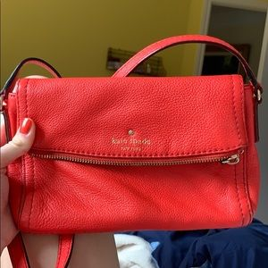 Kate Spade red crossbody bag